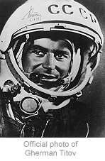 Gherman Titov of Vostok-2